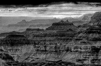 Grand Canyon in B&W _D2X0315_6_7_8_9